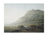 The Peak at Castleton, Derbyshire Giclee Print by John Glover