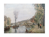 The Seine at Marly, 1871 Giclee Print by Camille Pissarro