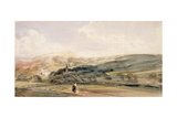 A Landscape with Figures at Malvern Giclee Print by Peter De Wint