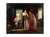 Preparation before a Party, 1869 Giclee Print by Vasily Maximov