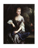 Portrait of Isabella Machell, Viscountess Irwin, C.1685-90 Giclee Print by Johann Closterman