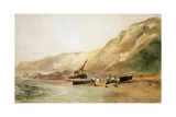 On the Coast of Ventnor, Isle of Wight Giclee Print by Peter De Wint