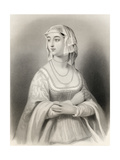 Margret of Anjou (1429-82) Illustration from 'World Noted Women' by Mary Cowden Clarke, 1858 Giclee Print by Pierre Gustave Eugene Staal