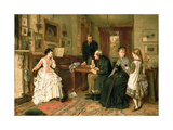 Poor Relations, 1875 Giclee Print by George Goodwin Kilburne