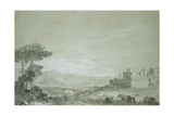 Velletri, 1754 Giclee Print by Richard Wilson