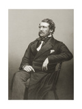 Captain William Harrison (1812-60), Engraved by D.J. Pound from a Photograph, from 'The… Giclee Print by John Jabez Edwin Paisley Mayall