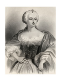 Maria Theresa (1717-80) Archduchess of Austria and Queen of Hungary Amd Bohemia, Illustration… Giclee Print by Pierre Gustave Eugene Staal