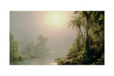 Morning in the Tropics, C.1858 Giclee Print by Frederic Edwin Church