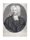 Cotton Mather (1663-1728) Giclee Print by Peter Pelham
