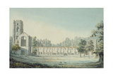 Fountains Abbey Giclee Print by Moses Griffith