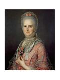 Mrs Jane Huddleston (D.1772) Giclee Print by Jean-Marc Nattier