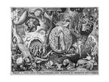 Christ in Hell, C.1561 Reproduction procédé giclée par Pieter Bruegel the Elder