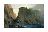 Tintagel on the Cornish Coast Giclee Print by William Trost Richards
