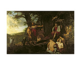 Judgement of Midas Giclee Print by  Gerard de Lairesse and Paul Pynacker