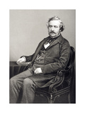 Martin Farquhar Tupper (1810-89) Engraved by D.J. Pound from a Photograph, from 'The Drawing-Room… Giclee Print by John Jabez Edwin Paisley Mayall