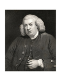 Portrait of Dr. Samuel Johnson (1709-84) Giclee Print by Sir Joshua Reynolds