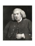 Portrait of Dr. Samuel Johnson (1709-84) Giclee Print by Sir Joshua Reynolds