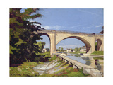 Le Pont Canal a Briare, 1888 Giclee Print by Henri-Joseph Harpignies