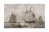 British Men of War, Engraved by Thomas Milton (1743-1827) 1820 Giclee Print by  English School