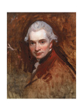 Self Portrait in a Red Coat, C.1770 Giclee Print by George Romney