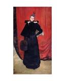 Portrait of Madame Gervex, 1893 Giclee Print by Henri Gervex