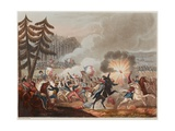 Battle of Barrosa on 5th March 1811, Engraved by J.C. Stadler, Published 1818 Giclee Print by William Heath