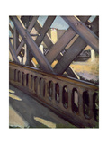 Study of Le Pont De L'Europe, 1876 Giclee Print by Gustave Caillebotte