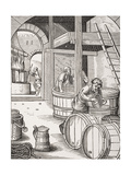 The Brewer, after a 16th Century Illustration Drawn and Engraved by Jost Amman (1539-91) from 'Le… Giclee Print