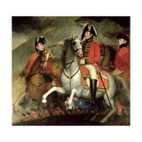 The Battle of the Pyrenees, 1812-15 Giclee Print by John Singleton Copley