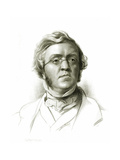 William Makepeace Thackeray (1811-63) Giclee Print by Samuel Laurence