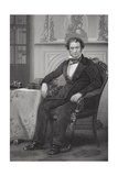 Portrait of Rufus Choate (1799-1859) Giclee Print by Alonzo Chappel