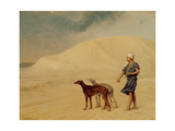 In the Desert Giclee Print by Jean Leon Gerome