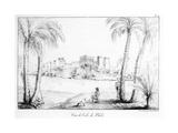 Island of Philae, from 'Receuil Des Cartes Et Des Vues Du Voyage En Amerique, En Italie, En… Giclee Print by Edouard de Montule