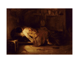 The Suicide, C.1836 Giclee Print by Alexandre Gabriel Decamps