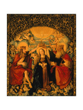 The Coronation of the Virgin, Central Panel from the High Altar, 1512-16 Giclee Print by Hans Baldung Grien
