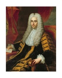 Portrait of Rt Hon John Methuen as Lord Chancellor of Ireland Giclee Print by Adrien Carpentiers