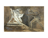 Edgar, Feigning Madness Approaches King Lear, 1772 Giclee Print by Henry Fuseli