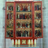 View of the Altar in the Apse of the Former Abbey Church Photographic Print by German School