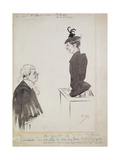 The Witness (Mrs Chant), 1894 Giclee Print by Philip William May