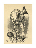 Humpty Dumpty, Illustration from 'Through the Looking Glass' by Lewis Carroll (1832-98) First… Giclee Print by John Tenniel