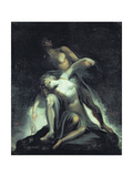Vision of the Deluge, from 'Paradise Lost' by John Milton (1608-74) Giclee Print by Henry Fuseli
