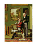 The Discerning Collector Giclee Print by Arthur Longlands Grace