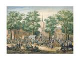 Market in the Hague, 1769 Giclee Print by Paulus Constantin La Fargue