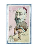 Caricature of Monsieur Anatole France (1844-1924) of the French Academy, after 1896 Giclee Print by  Orens