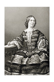 Miss Amy Sedgwick (1830-97) Engraved by D.J. Pound from a Photograph, from 'The Drawing-Room of… Giclee Print by John Jabez Edwin Paisley Mayall