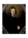 Portrait of Edward Hyde (1609-74) 1st Earl of Clarendon, C.1651 Giclee Print by Adriaen Hanneman