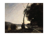 The Evening Star, 1864 Giclee Print by Jean-Baptiste-Camille Corot