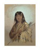 Chinook Indian, Columbia River Giclee Print by Alfred Jacob Miller