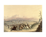Cavalcade, C.1858 Giclee Print by Alfred Jacob Miller
