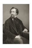 Charles John Huffam Dickens (1812-70) Engraved by D.J. Pound from a Photograph, from 'The… Giclee Print by John Jabez Edwin Paisley Mayall